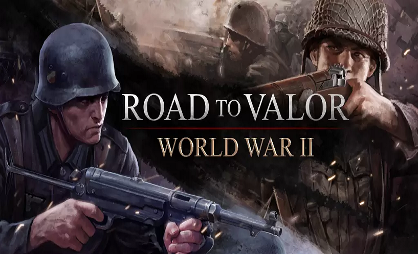 Road to Valor World War 2 - Logo