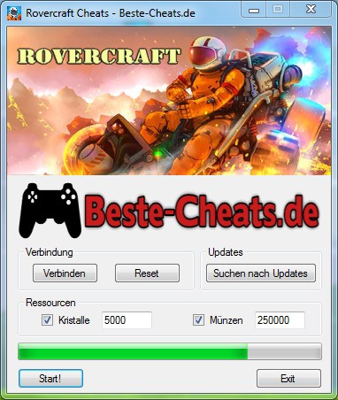 rovercraft cheats