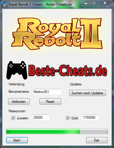 Royal Revolt 2 Cheats - Juwelen und Gold