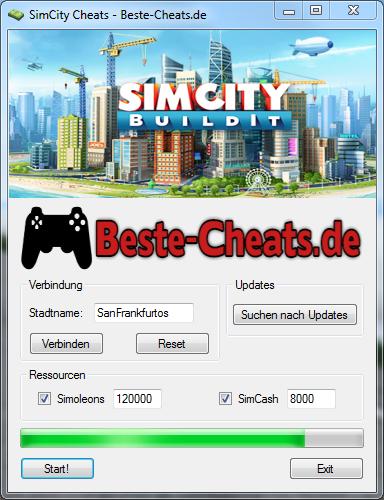 Jeder Spieler kann mit den SimCity-Cheats mehr Simoleons und SimCash erhalten.
