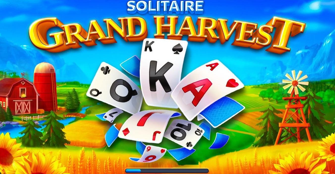 Solitaire Grand Harvest - eines der beliebtesten Karten-Handyspiele
