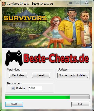 survivors cheats - kristalle
