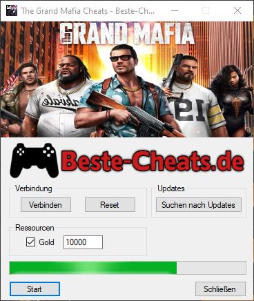 The Grand Mafia Cheats - Gold