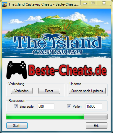 the island castaway cheats - smaragde und perlen