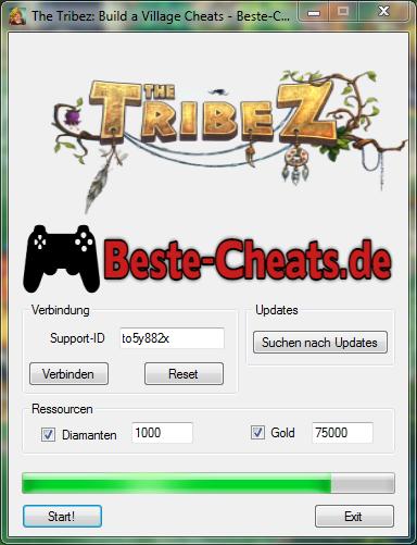 The Tribez Cheats - bekommen viele Diamanten und Gold zu Ihrem Spiel