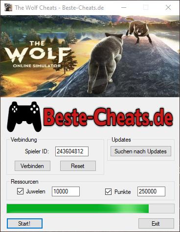 the wolf cheats - juwelen und punkte