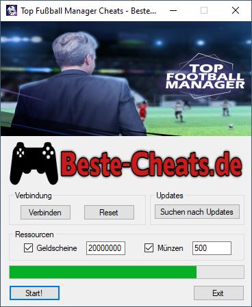 top fußball manager cheats - geld und münzen