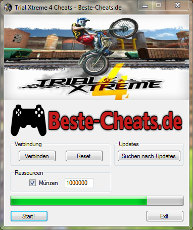 trial xtreme 4 cheats