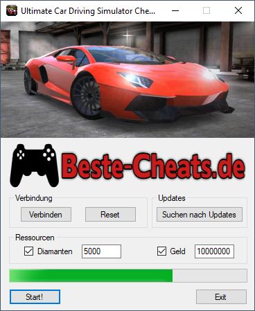 ultimate car driving simulator cheats - diamanten und geld
