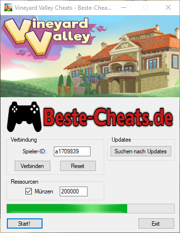 vineyard valley unendlich münzen cheat