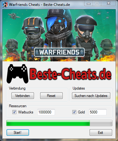 warfriends cheats