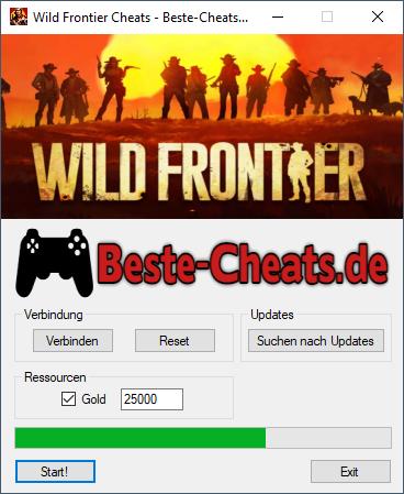 Wild Frontier Cheats Gold