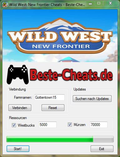 Wild West: New Frontier Cheats - Westbucks und Münzen bekommen