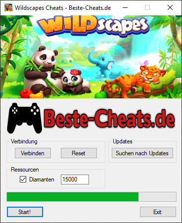 Wildscapes Cheats für Diamanten