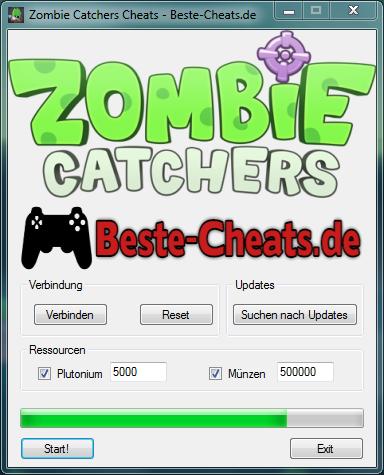 zombie catchers cheats - plutonium und münzen cheats
