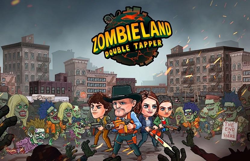 Zombieland Double Tapper - Spiel Logo