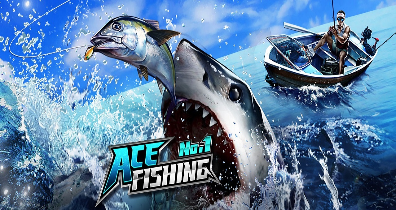 ace fishing logo