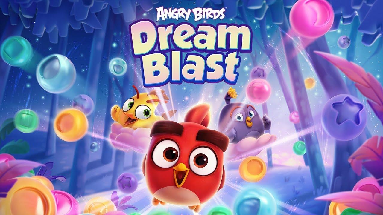 angry birds dream blast logo spiel