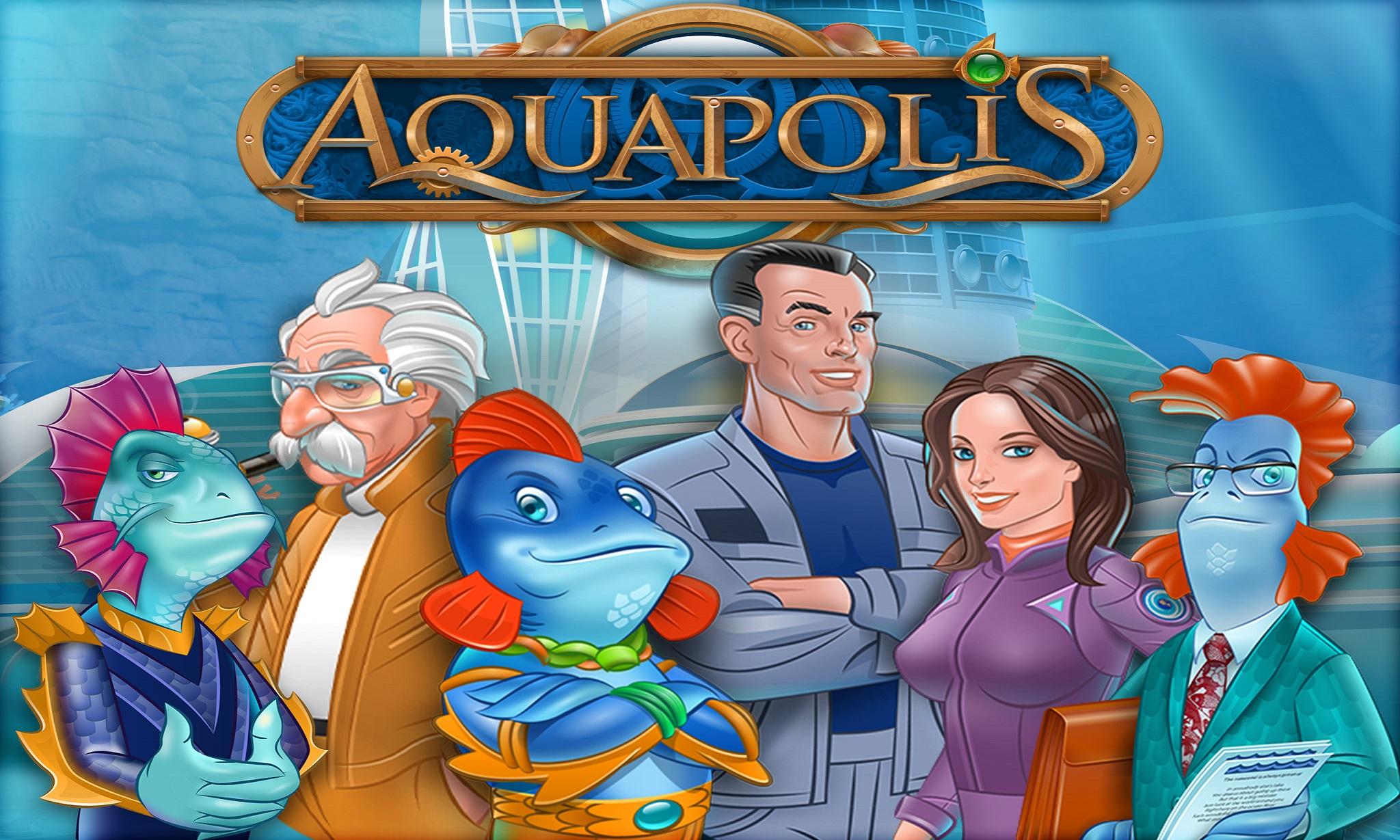 Aquapolis - Spiel Deutsch