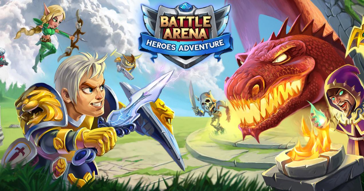 battle arena heroes adventure logo