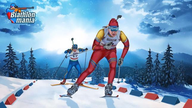 biathlon mania logo