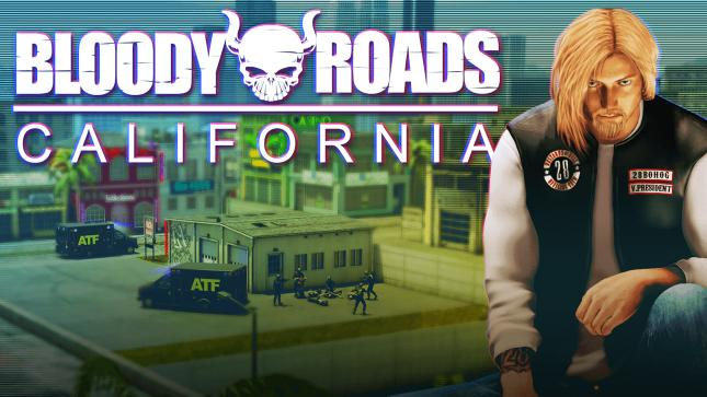 Bloody Roads California - Spiel deutsch