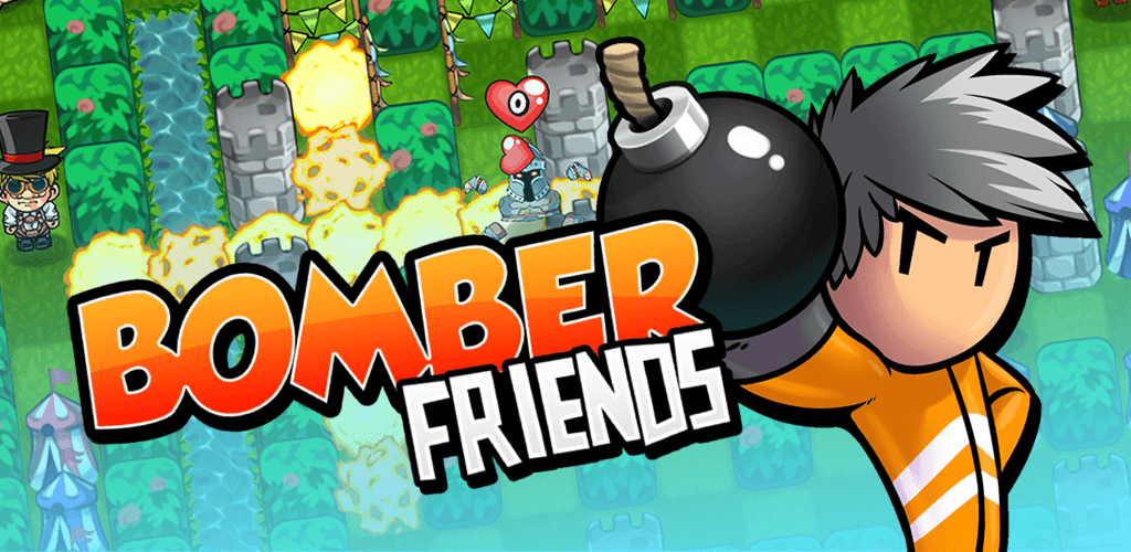 bomber friends mobile spiel logo