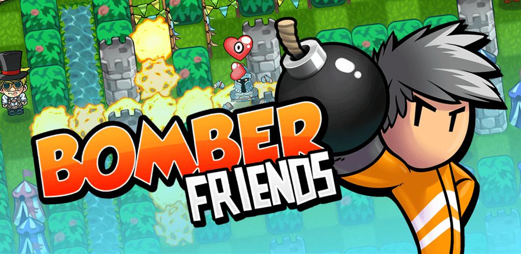 bomber friends mobile spiel logo