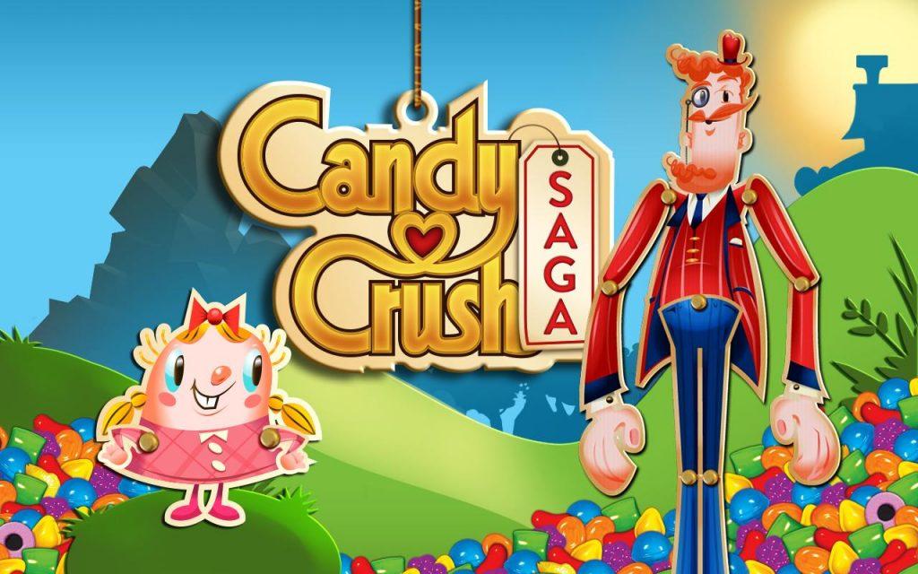 Candy Crush Saga - eines der beliebtesten Puzzlespiele in Deutschland