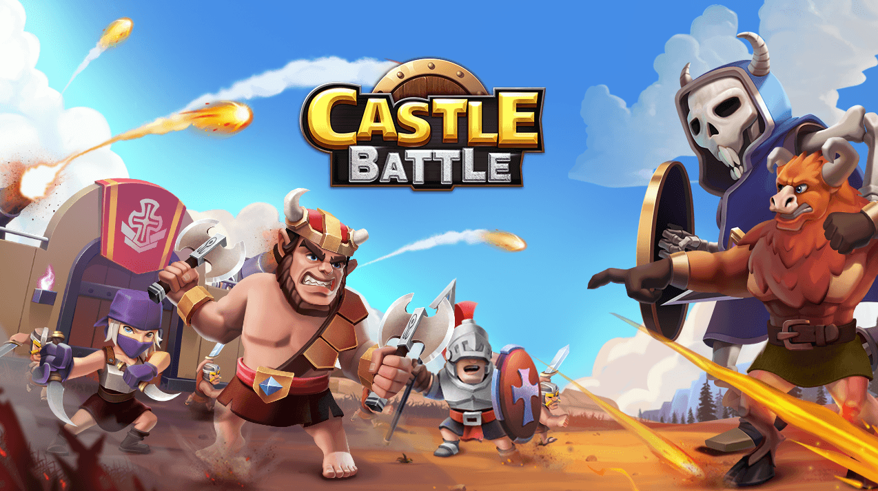 Castle Battle - Spiel Logo