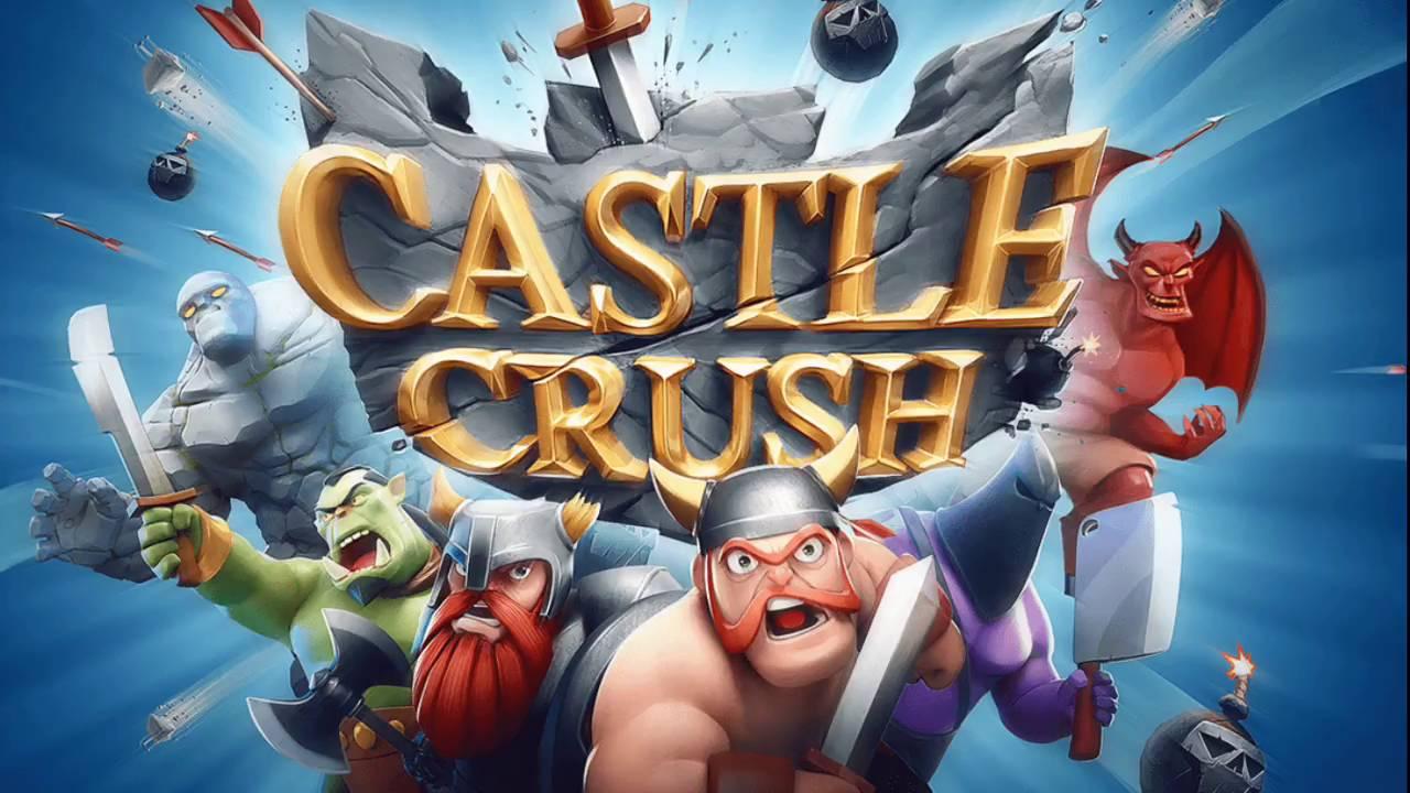 Castle Crush - Spielelogo, Deutsch