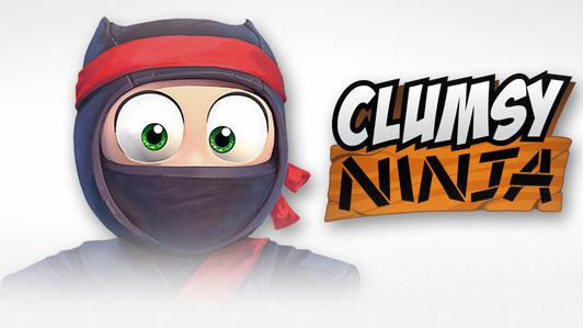 clumsy ninja bild logo