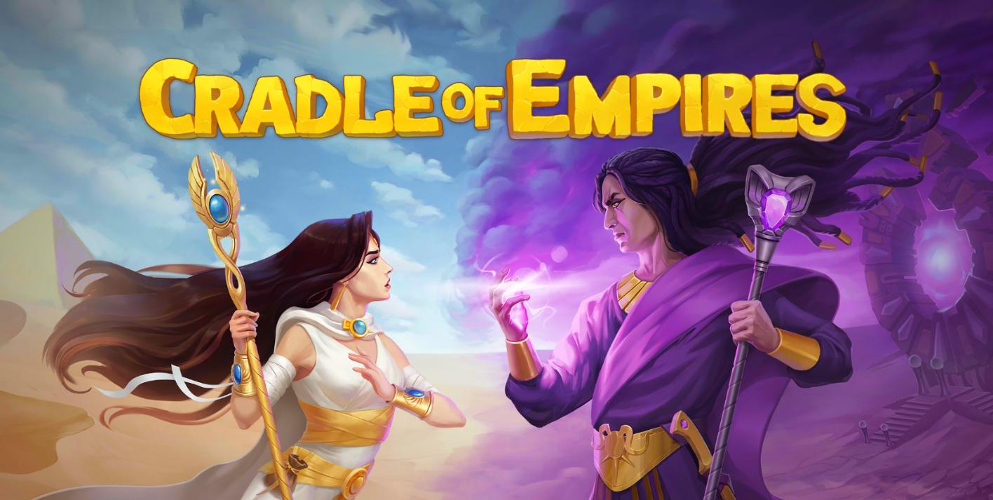 cradle of empires - handyspiel logo
