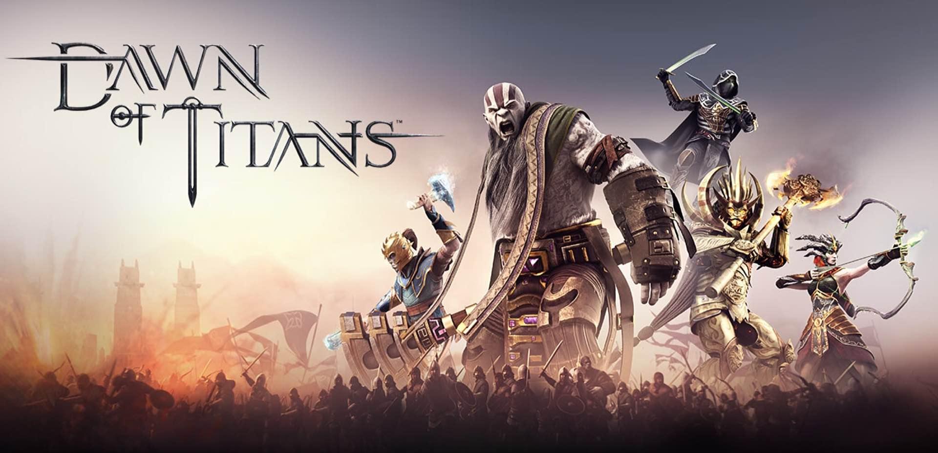dawn of titans - handyspiel