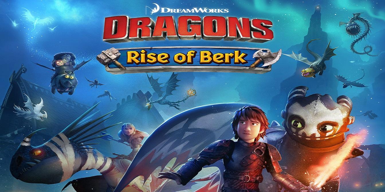 Drachen: Aufstieg von Berk - Simulation Handyspiel