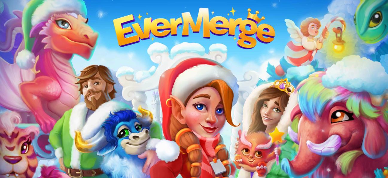 EverMerge - Puzzle und Merge Handyspiel