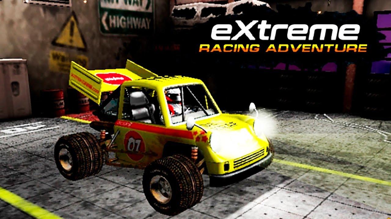 extreme racing adventure spiel bild