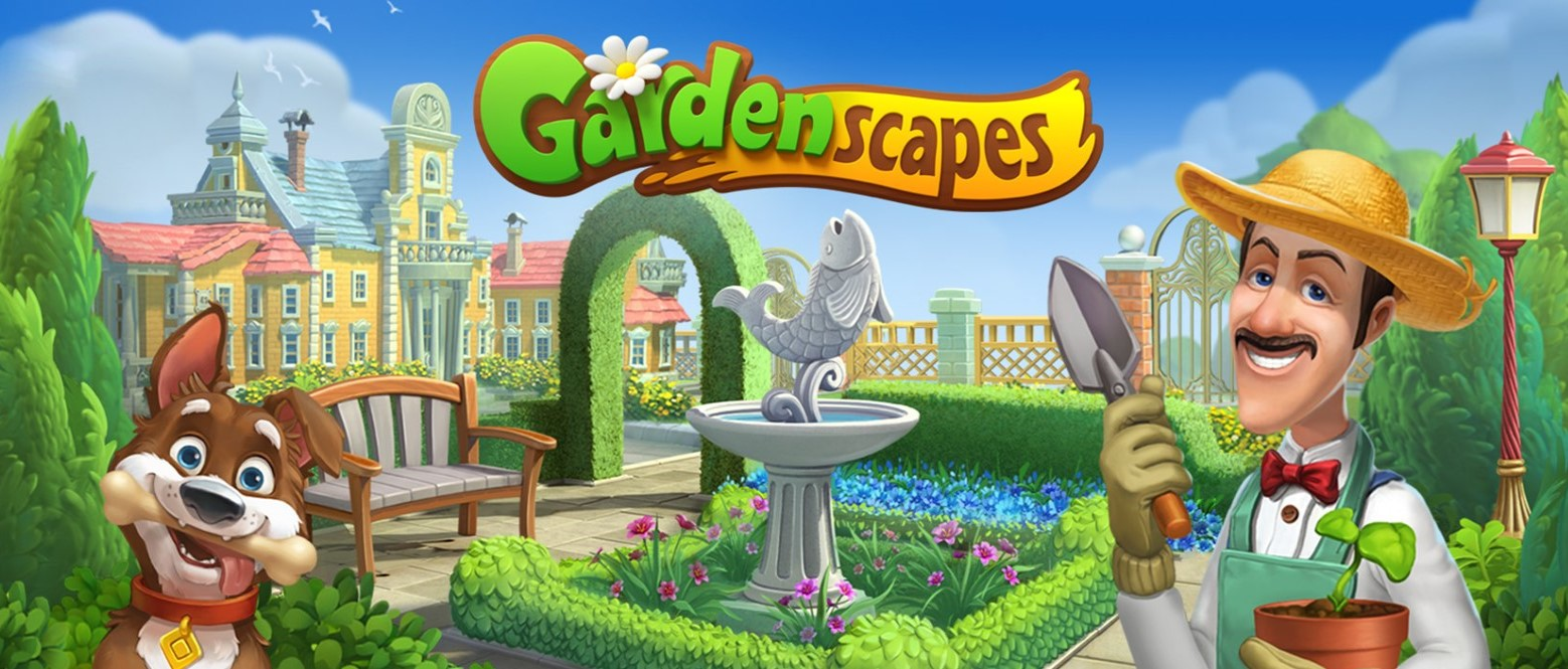 Unendlich viele Sterne bei Gardenscapes - APK Mod
