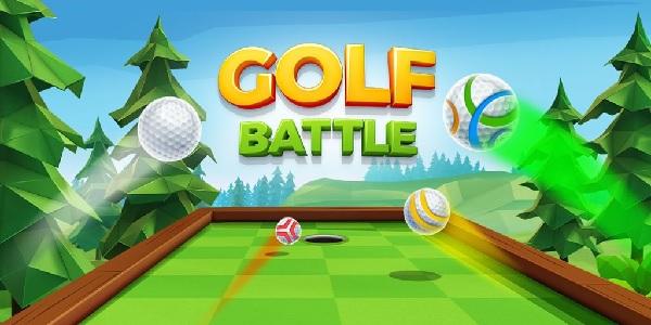 golf battle logo