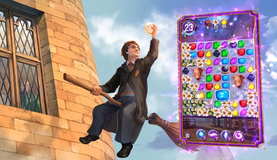 Harry Potter Rätsel und Zauber - Puzzle Handyspiel