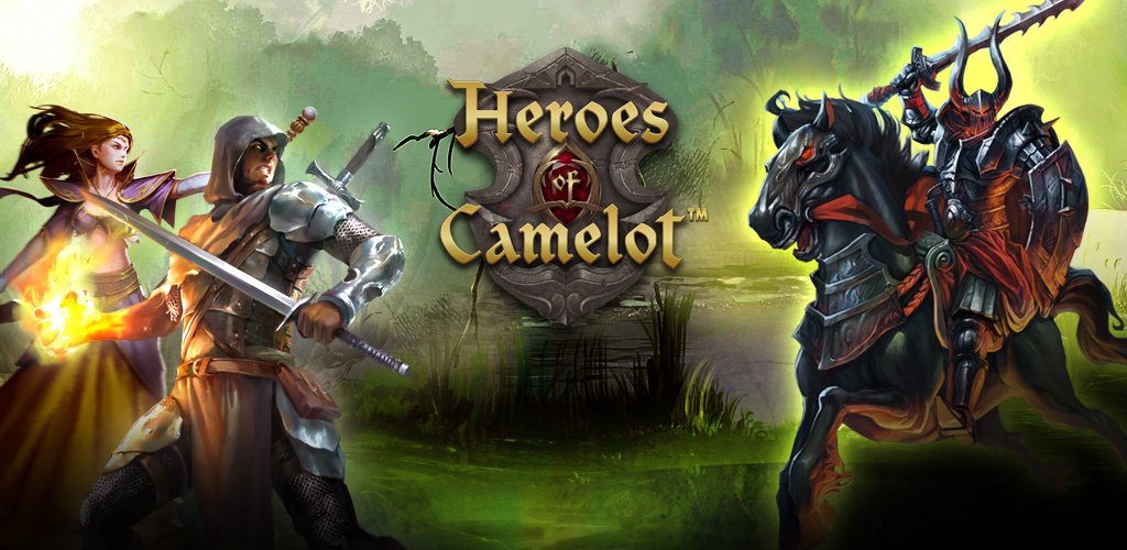 heroes of camelot logo