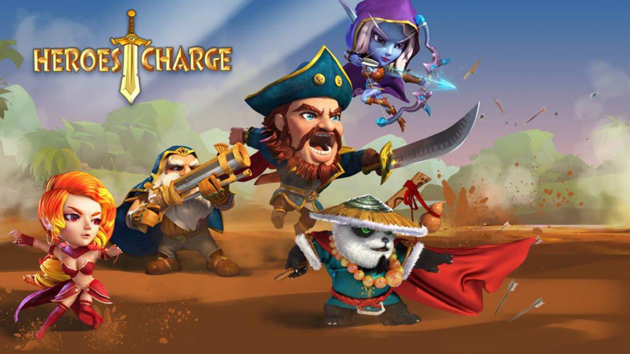 Heroes Charge - Beste Helden Liste Deutsch Cheats