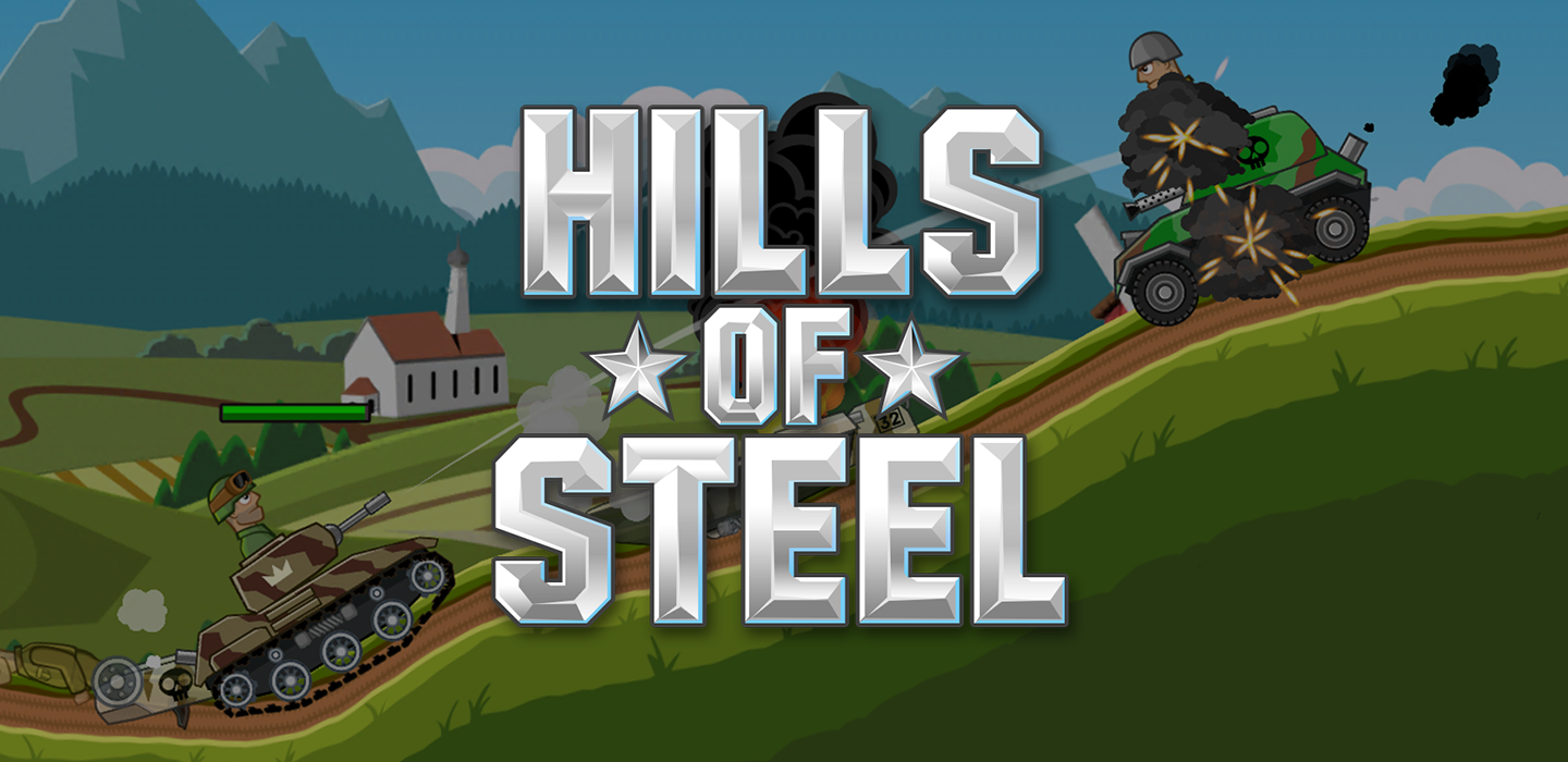 Hills of Steel - voller Action-Handyspiel