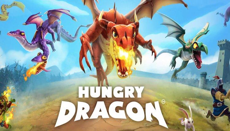 hungry dragon spiel logo