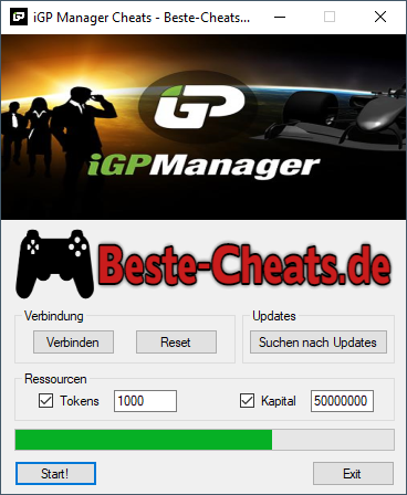 igp manager cheats - tokens und kapital