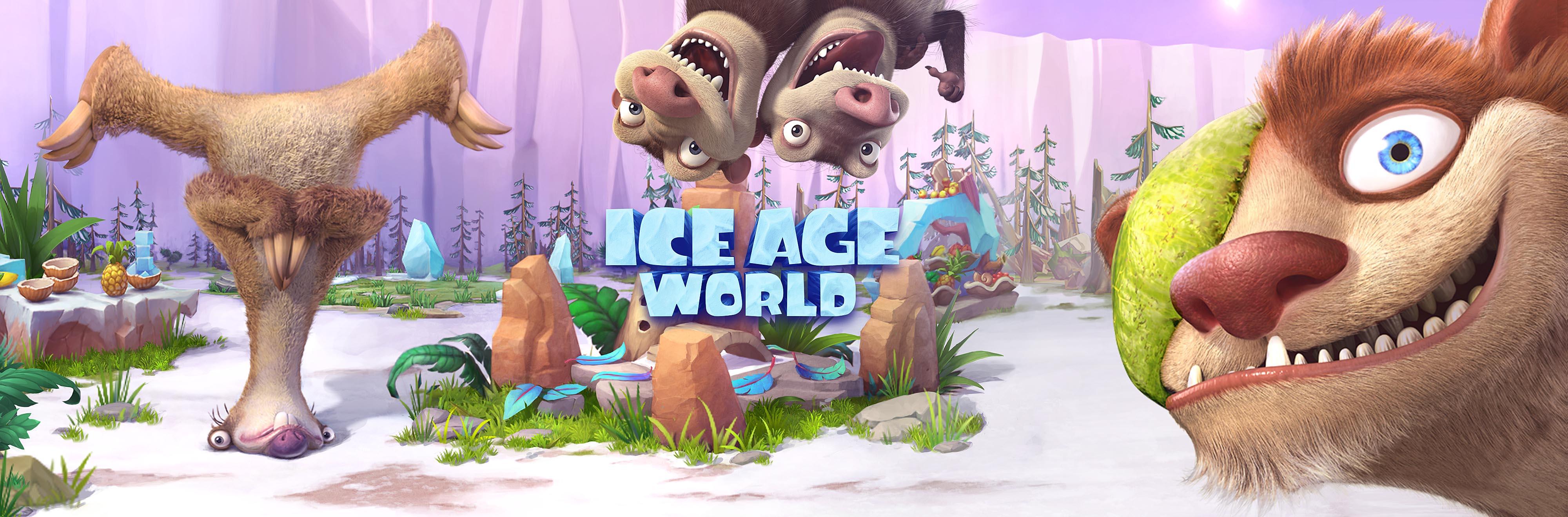 Ice Age World - Spielelogo Deutsch