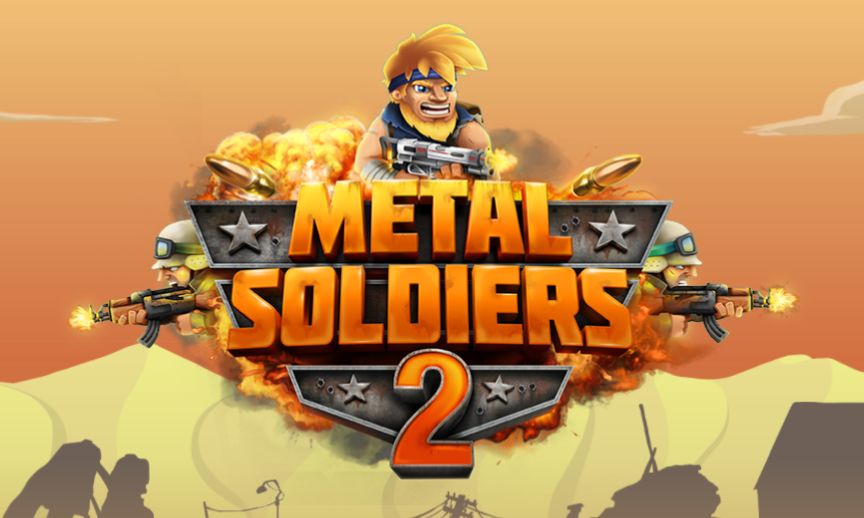 metal soldiers 2 logo bild
