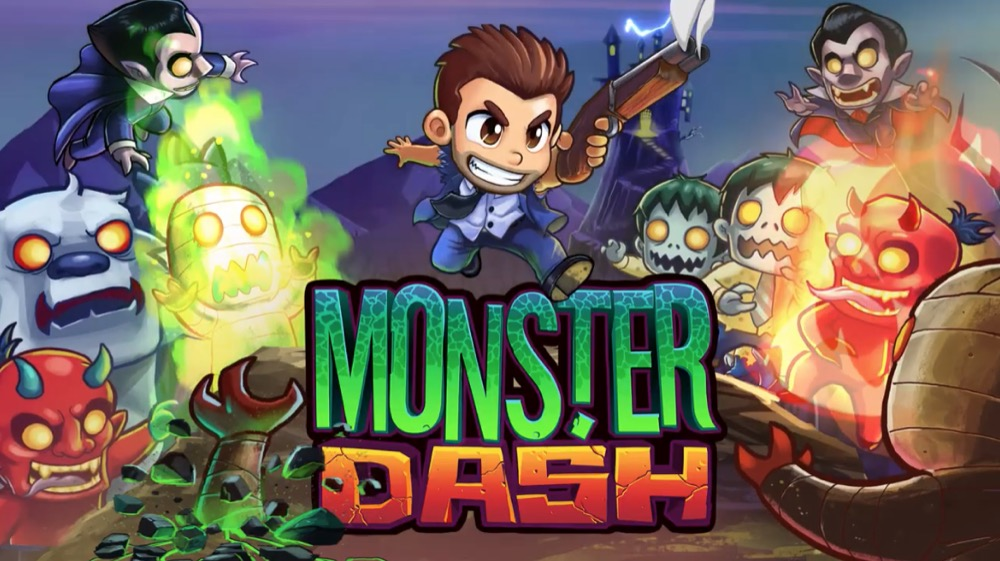 Monster Dash - Spielelogo