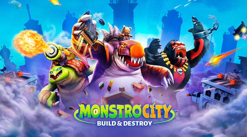 MonstroCity Rampage Logo