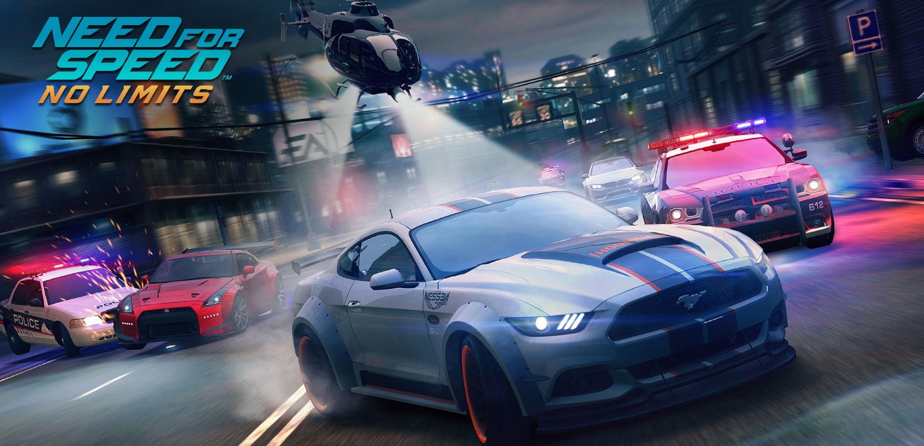 Need for Speed No Limits - Handyspiel für Android- und iOS-Geräte